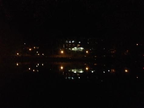 Assembly Inn in the moonlight